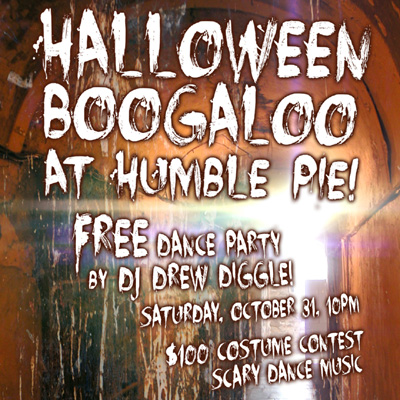DJ Drew Diggle Halloween Humble Pie 2015