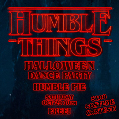 DJ Drew Diggle Halloween Humble Pie 2016