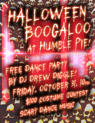 DJ Drew Diggle Halloween Humble Pie 2014