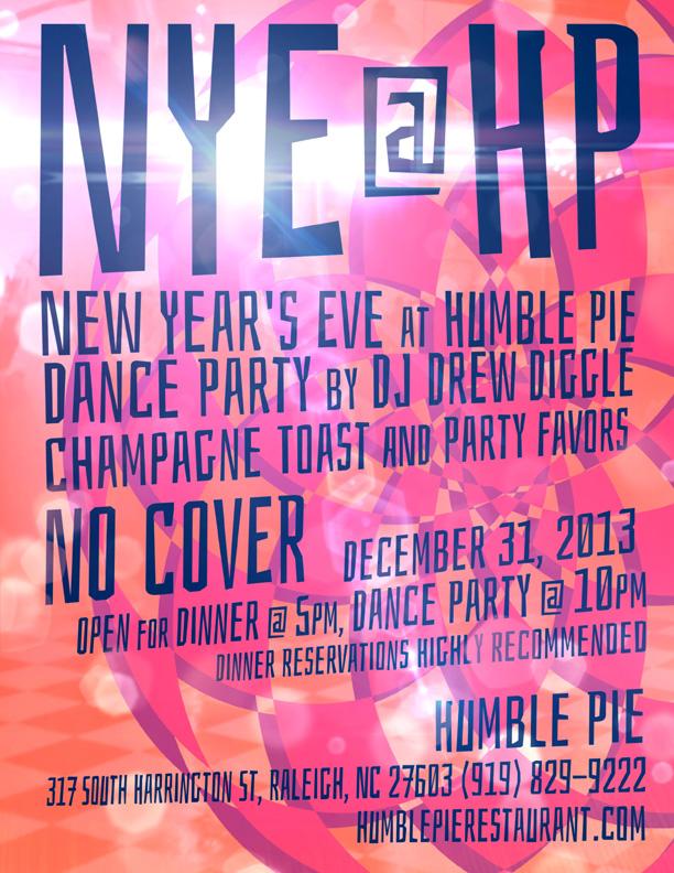 DJ Drew Diggle NYE Humble Pie 2013
